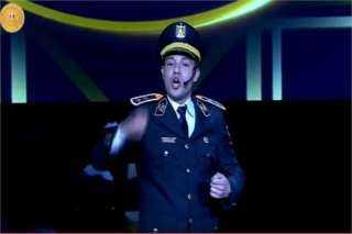 """ضابط شرطة :  """"لو خيروني أكون شهيد .. هي دي أقصى الأماني""""..فيديو"""