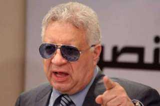 أول تعليق من مرتضى منصور علي وجود مخالفات في نادي الزمالك
