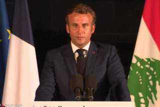 ماكرون لنظيره روحاني: يجب وقف تدخل جميع القوى الخارجية في لبنان