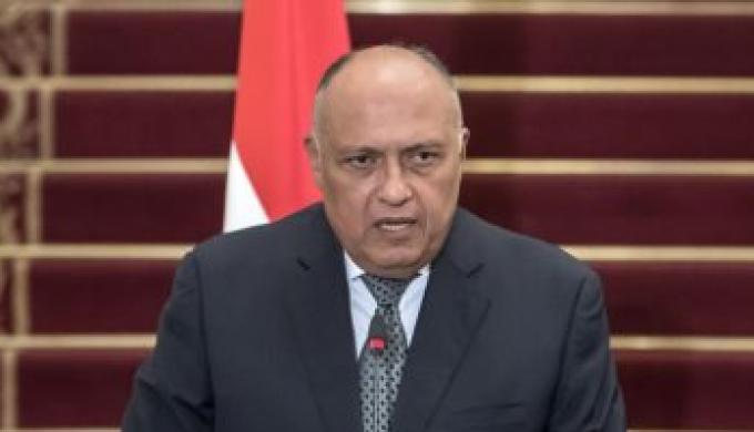 وزير الخارجية سامح شكري يتلقى اتصالاً هاتفياً من نظيره العراقى