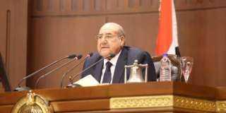 رئيس مجلس الشيوخ ينعي جيهان السادات