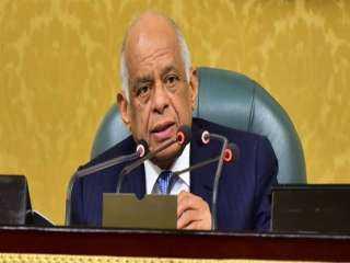 رئيس البرلمان يعزى النائب عبد الله لاشين فى وفاة والدته