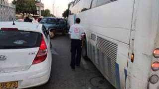 مصرع عاملين فلسطينيين وإصابة 5 في حادث دهس بحافلة إسرائيلية