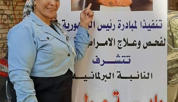 """تنفيذا لمبادرة الرئيس السيسي """"100 مليون صحة"""" .. القوى العاملة تطلق قافلة طبية بمنطقتى فيصل والهرم"""