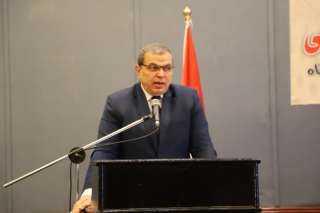 وزير القوى العاملة ومحافظ الإسكندرية يسلمان 9618 بوليصة تأمين تكافلي للعمالة غير المنتظمة وصغار الصيادي (صور)