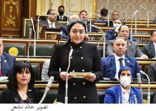 أسماء سعد الجمال تؤدى اليمين الدستورية نائبا بمجلس النواب خلفا لوالدها
