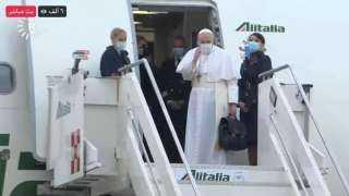 زيارة تاريخية لـ البابا فرنسيس في العراق.. استقبال حافل وتأمين مشدد وتعزيز «للسلام مع الأديان الثلاث»