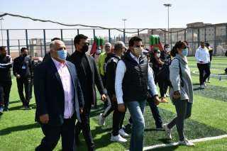صبحي يشهد فعاليات المهرجان الرياضي الأول للمقيمين بمصر من دول سوريا والعراق واليمن وفلسطين وإريتريا والسودان (صور)