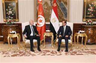 الرئيس السيسي ونظيره التونسي يعلنان «2021 -2022» عامًا للثقافة المصرية التونسية