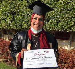 «الزيني» يهنئ الدكتورة هناء أبو يوسف لحصولها على دبلوم الحقن المجهري من جامعة برمنجهام