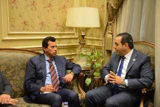 رئيس شباب النواب يكشف مستجدات الحالة الصحية للدكتور أشرف صبحي