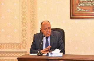 وزير الخارجية يسلم رسالة من الرئيس السيسي لرئيس جنوب إفريقيا حول تطورات ملف سد النهضة
