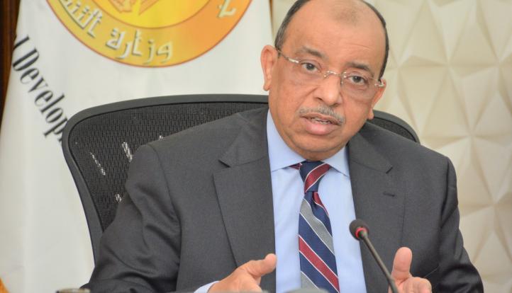 """وزير التنمية المحلية يتلقى تقريراً عن جهود مبادرة """"صوتك مسموع"""" خلال أبريل الماضي"""