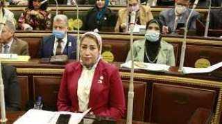 بعد توجهات الرئيس.. منى عبدالله: مشروع تنمية الأسرة المصرية يساعد على انتهاء عصر الزيادة السكانية