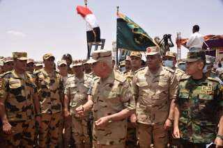 رئيس الأركان يشهد فعاليات ختام التدريب المشترك المصرى السوداني «حماة النيل» بجمهورية السودان(صور)