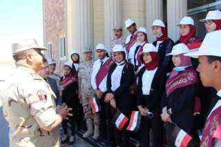 المنطقة الغربية العسكرية تستقبل وفداَ من جامعة مرسى مطروح