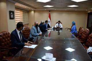 وزير الرياضة يبحث استعدادات استضافة مصر لبطولة العالم للكرة الطائرة