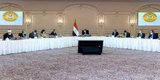 تفاصيل لقاء رئيس الوزراء برؤساء اللجان النوعية بمجلس النواب..صور