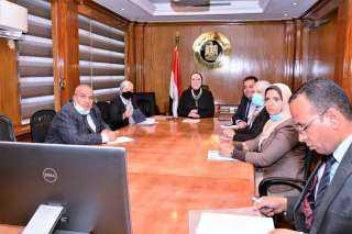 وزيرة التجارة والصناعة ونظيرها المغربي يبحثان سبل تيسير حركة التبادل التجاري بين البلدين
