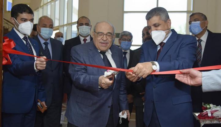الفريق أسامة ربيع والدكتور مصطفى الفقي يفتتحان أولى سفارات المعرفة لمكتبة الإسكندرية| صور