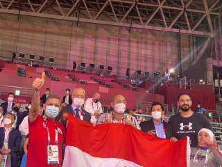 وزير الرياضة يهنيء «هداية ملاك وسيف عيسي» بالفوز ببرونزيتين التايكوندو بأولمبياد طوكيو