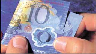إنذار رسمي للبنك المركزي بسبب العملات البلاستيكية الجديدة