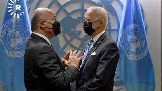 الرئيسان الأمريكي والعراقي يبحثان تعزيز العلاقات الثنائية