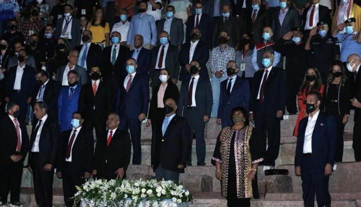 رئيس وزراء الأردن يوقد شعلة مهرجان جرش للثقافة والفنون بحضور وزيرا ثقافة مصر والاردن