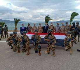 عناصر من القوات الخاصة المصرية تشارك فى التدريب المشترك الرباعي ( هرقل 21 ) بدولة اليونان| فيديو و صور
