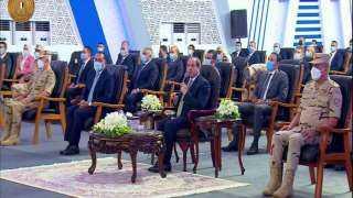 الرئيس عبد الفتاح السيسي: طول ما النمو السكاني في مصر بالمعدلات ديلن نستطيع التحرك للأمام
