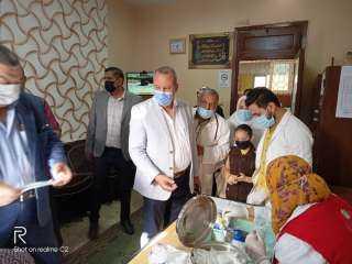 """تدشين مبادرة علاج أمراض سوء التغذية بين أطفال المدارس """"بمدرسة خالد بن الوليد الابتدائية بالبرامون """" الدقهلية"""